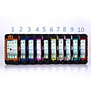 Heavy Duty Hybrid Combo Defender Armor Case Cover Full Body for iPhone 4/4S