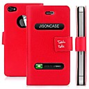 Stylish PU Leather  Flip Case for iPhone 4/4S