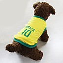 Dog Shirt / T-Shirt / Clothes/Clothing Yellow Summer Sport Cosplay