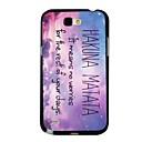 Elonbo J7B Hakuna Matata Hard Back Case Cover for Samsung Galaxy Note 2 N7100