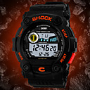 Men's Watch Sports LCD Digital Water Resistant Calendar Multi-Function