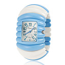 Women's Elastic Plastic Band Quartz Bracelet Watch (Assorted Colors)