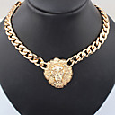 European Style Lion Head Choker Necklace