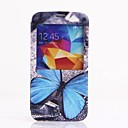 Blue Butterfly Pattern Full Body Case for Samsung S5 I9600