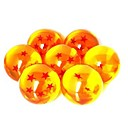 Anime Dragon Ball 7 Stars Crystal Ball Set of 7 kpl Dragon Ball Z Balls Täydellinen 3cm
