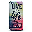 Buy Live Life Sea Pattern Hard Case iPhone 4/4S