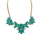 Light Green / Red / Brown / Green Statement Necklaces Party / Daily / Casual Jewelry