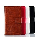 Solid Color PU Leather Case voor Nokia 520