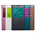 Screen Visible PU Leather Full Body Case for Samsung Galaxy S5 I9600 (Assorted Color)