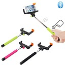 Wireless Bluetooth Monopod for Android 3.0 and above system,iOS 4.0 and Above system— Black,Pink,Green