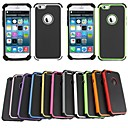 BEBONCOOL Executive Armor Defender High Impact Combo Hard Soft Gel Cover for iPhone 6(Assorted Color)