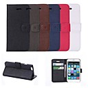 Fashion Solid Color Design PU Full Body Case with Card Slot for iPhone 6 (Assorted Color)