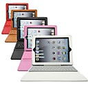 Silicone Case w/ Bluetooth 3.0 Keyboard for iPad 2 iPad 3 and iPad 4 (Assorted Colors)