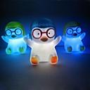 20st Pinguin rotocast Farbwechsel Nachtlicht (zufällige Farbe)