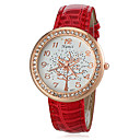 Buy Women's Diamante Round Dial PU Band Quartz Analog Casual Watch (Assorted Colors) Cool Watches Unique Fashion