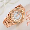 Women's Watch Big Dial Rhinestone Rose Gold Watch
