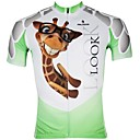 Buy PALADIN® Cycling Jersey Men's Short Sleeve Bike Breathable / Quick Dry Ultraviolet Resistant Tops 100% PolyesterAnimal