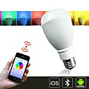H+LUX™ LED A65 E27 13W 57x5050SMD 1050lm 3000-6500K RGBCW Bluetooth Control Color Changing Smart Light Bulb AC85-265V