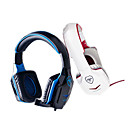 Licmin/G918S USB/3.5mm Dual Interface Headset Voice Cool Emitting Gaming Headset