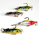 Hard Bait / Metal Bait / Lure kits / Fishing Lures Metal Bait / Hard Bait / Lure Packs 4 pcs g / 1/6 oz. Ounce mm / 1