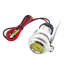 Motorcycle HandleBar Cell Phone Waterproof USB Car Charger Power Adapter with Watch