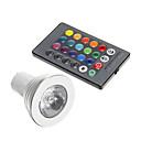4W GU10 LED Spotlight 1 150 lm RGB Decorative AC 85-265 V