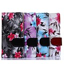 Floral Pattern PU Full Body Case with Card Slot for Sony Xperia M2 S50h  (Assorted Color)
