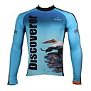 Buy PALADIN® Cycling Jersey Men's Long Sleeve Bike Breathable / Quick Dry Ultraviolet Resistant Tops 100% PolyesterAnimal Nature