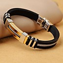 Classic Men's High Quality 316L Stainless Steel Wrap Leather Bracelets
