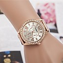 Women's Fashion Rhinestones Steel Belt Quartz Wrist Watch(Assorted Colors)