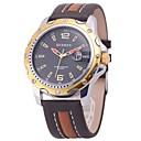 Men's Cool Aviator Style Date Display Quartz Wrist Watch (Assorted Colors)