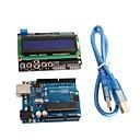Buy UNO R3 + LCD 1602 Keypad Shield V2.0 LCD1602 Expansion Board Building Blocks Aduino