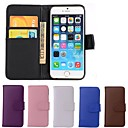 PU Leather Card Holder Full Body Cover Case for iPhone 6 (Assorted Colors)