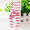 Crystal Surface Sexy Lips Pattern Hard Case for iPhone 5/5S