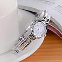 reloj de pulsera de cuarzo analógico aleación de estilo de moda de las mujeres