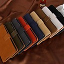 Fashion Solid Color Wallet Style PU Full Body Cover for iPhone 5C (Assorted Colors)