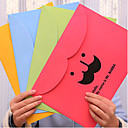 Creative Cute Color Paper Folder(Random Shipping)