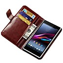 Retro Stand PU Leather Case with Card Slots for Sony Xperia Z1 L39H (Assorted Colors)