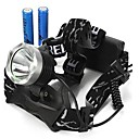Headlamps / Bike Lights LED 3 Mode 2000/1600/1800/350 Lumens Waterproof / Rechargeable / Impact Resistant / Strike Bezel Cree XM-L T6