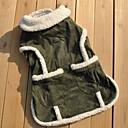 verstelbare katoen gevoerde kleding voor huisdieren honden (diverse maten)