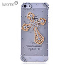 Crystal Hollow Out Cross Hard Case for iPhone5