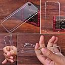 ultra-fina e transparente caso claro de volta duro para o iPhone 5 / 5s