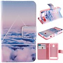 Cloud Design PU Leather Full Body Case  for  Sony Xperia E1
