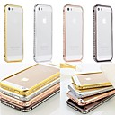 Doopootoo™ Luxury Bling Crystal Metal Bumper Frame Case Cover For iPhone 5/5S (Assorted Colors)