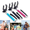 Extendable Handheld Selfie Stick Monopod for iPhone/iPad and Others (Assorted Colors)
