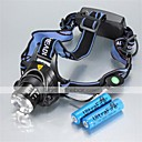 Buy Lights Headlamps LED 1200 Lumens 3 Mode Cree XM-L T6 18650 Waterproof / RechargeableCamping/Hiking/Caving Everyday Use Cycling/Bike