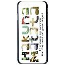 Buy Doopootoo™ Hakuna Matata Painted Pattern Slim Plastic Back Hard Case Cover iPhone 6 4.7 inch