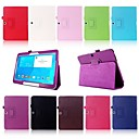 smart folio pu skinn stativ tilfelle dekke for Samsung Galaxy Tab 4 10,1 tommers T530 T531 tablet
