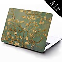 Famous Painting lmond Tree of Van Gogh Design Full-Body Protective Plastic Case for 11-inch/13-inch New Mac Book Air