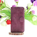 Dull Polish Genuine Leather Full Body Cases with Stand and Slot Card for Samsung S5 I9600 (Assorted Colors)